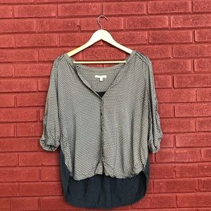 {Skies are Blue} Anthropologie Blouse